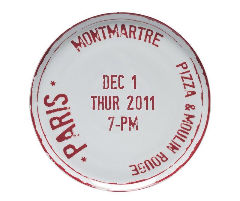 Platou pentru pizza Paris
