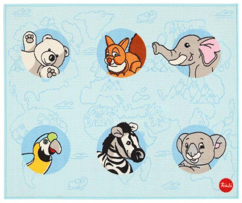 Tepih Animals 100x120 cm