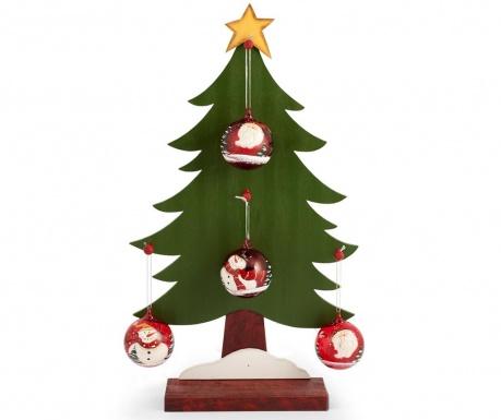 Decoratiune cu 4 globuri decorative Happy Tree