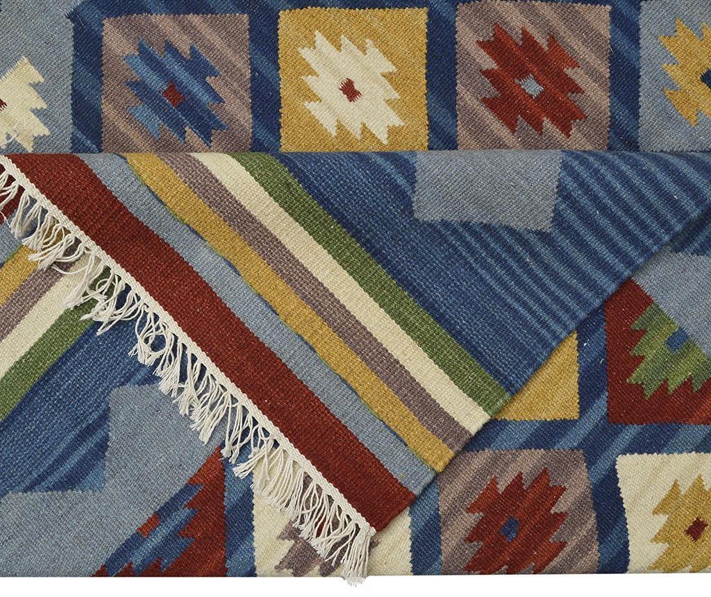 Tepih Kilim Adamaris Blue 75x125 cm