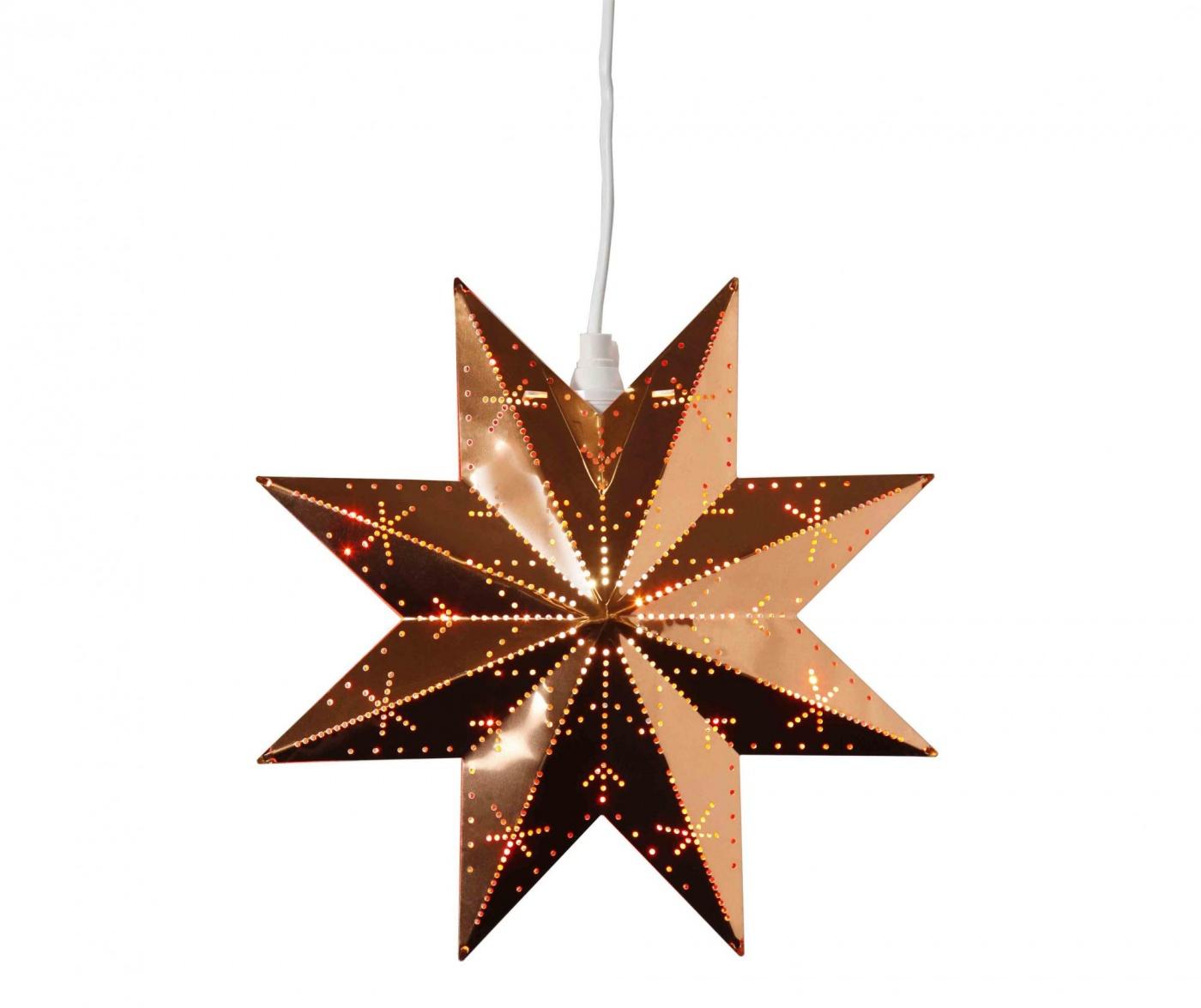 Star Copper Felfüggeszthető fénydekoráció