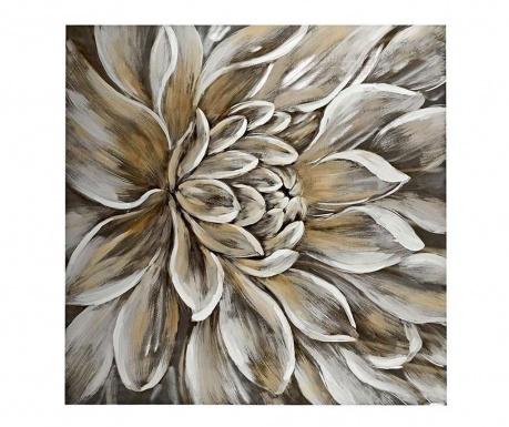 Lotus Festmény 100x100 cm