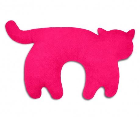 Vankúš na krk Feline Flamingo 25x46 cm