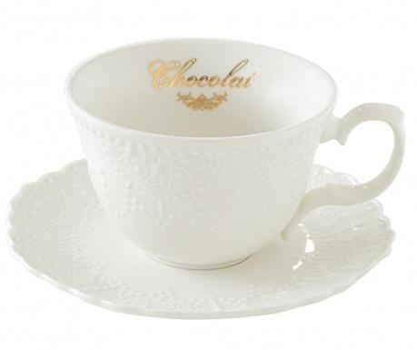 Pure Chocolate Csésze és kistányér