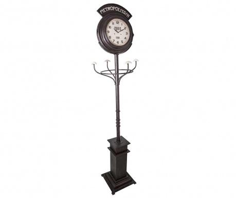 Věšák s hodinami Metropolitan