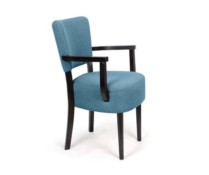 Stol Nisa Blue Arms Simple Classic