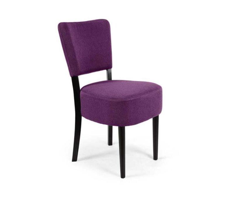 Židle Nisa Dark Purple Simple Classic