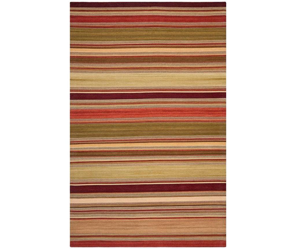 Covor Dalat Striped Red 76x121  cm