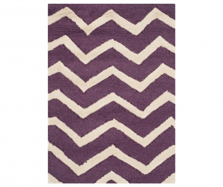 Dywan Edie Purple Ivory 90x150 cm