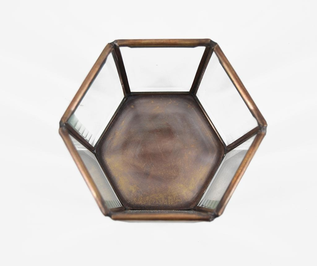 Svečnik Bisel Hexagonal