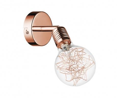 Nástenné svietidlo Bulbs Copper  Transparent