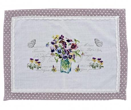 Podmetač Purple Post Card 33x45 cm