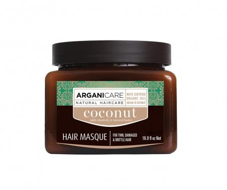 Maseczka do włosów  pozbawionych żywotności Coconut 500 ml