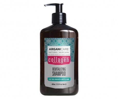 Szampon do włosów  pozbawionych witalności i matowych Collagen 400 ml
