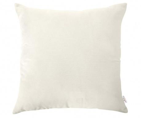 Obliečka na vankúš Plain White 43x43 cm