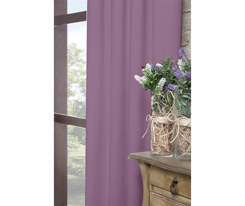 Zastor Plain Purple 140x270 cm