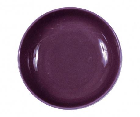 Talerz głęboki Flowers Purple