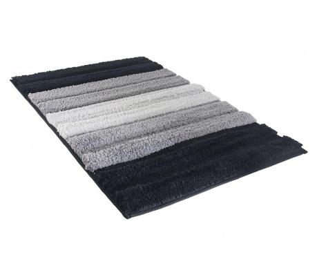 Χαλάκι μπάνιου Stripes Black 50x70 cm
