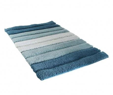 Χαλάκι μπάνιου Stripes Blue 50x70 cm
