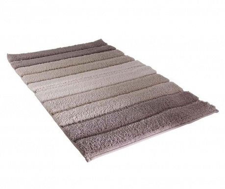 Predložka do kúpeľne Stripes Brown 50x70 cm