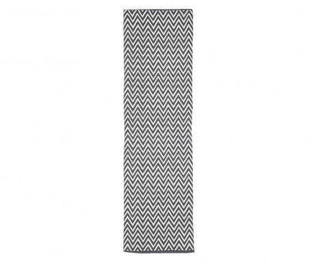 Rohožka Ziggy Black 50x175 cm