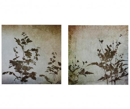 Set 2 tablouri Floral