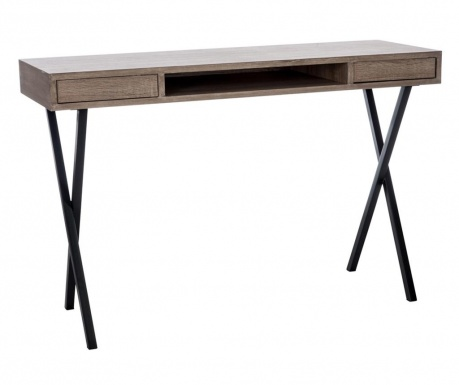 Pisací stôl Modern Brown