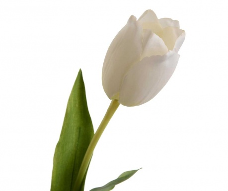 Τεχνητό λουλούδι Tulip Elegance White