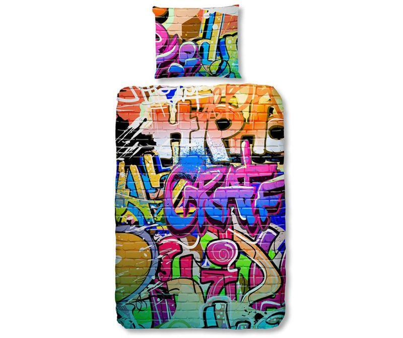 Posteljnina Single Ranforce Graffity