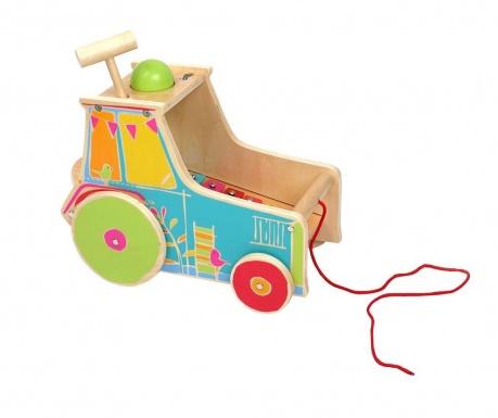 Igračka za vuču s aktivnostima Tractor