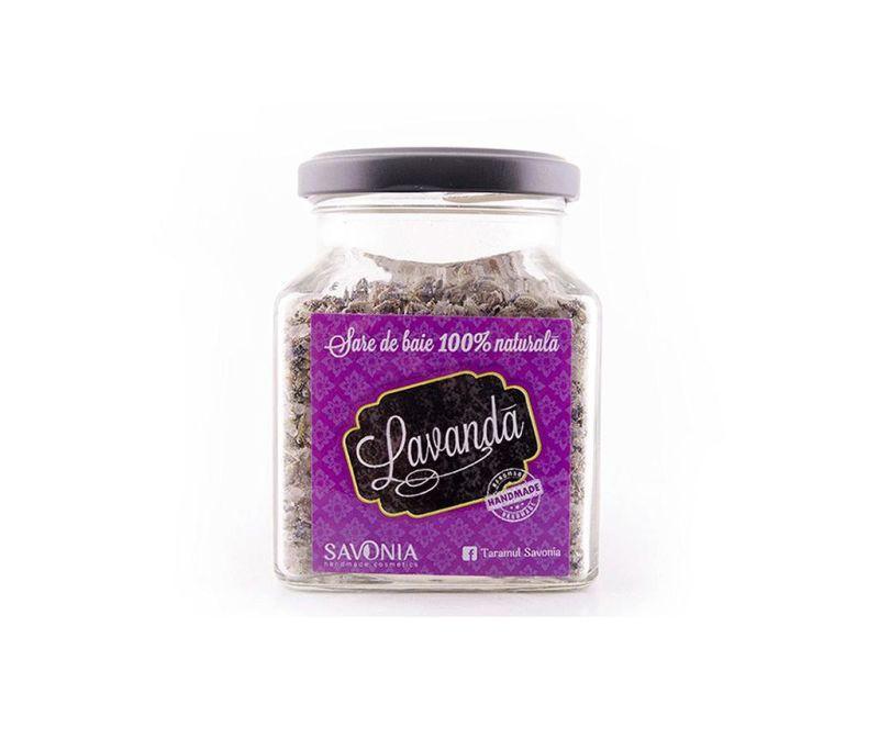 Sare de baie cu lavanda Savonia 250 g