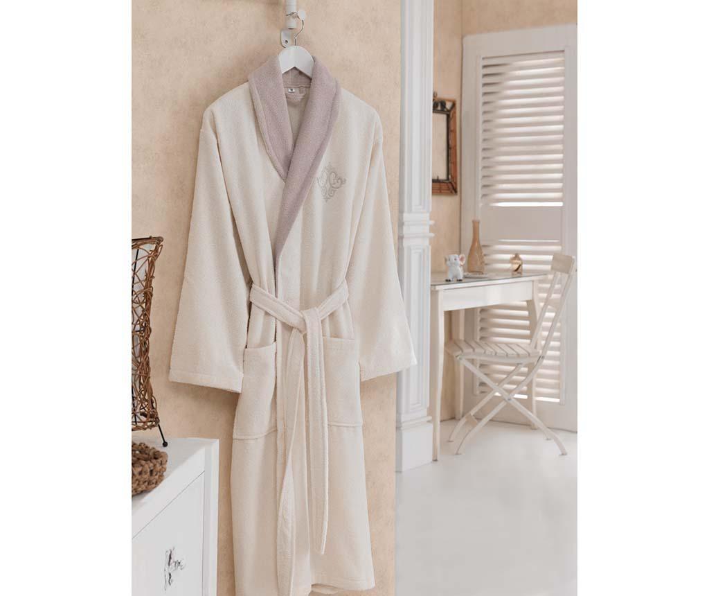 Ženski kupaonski ogrtač Daily Beige M/L