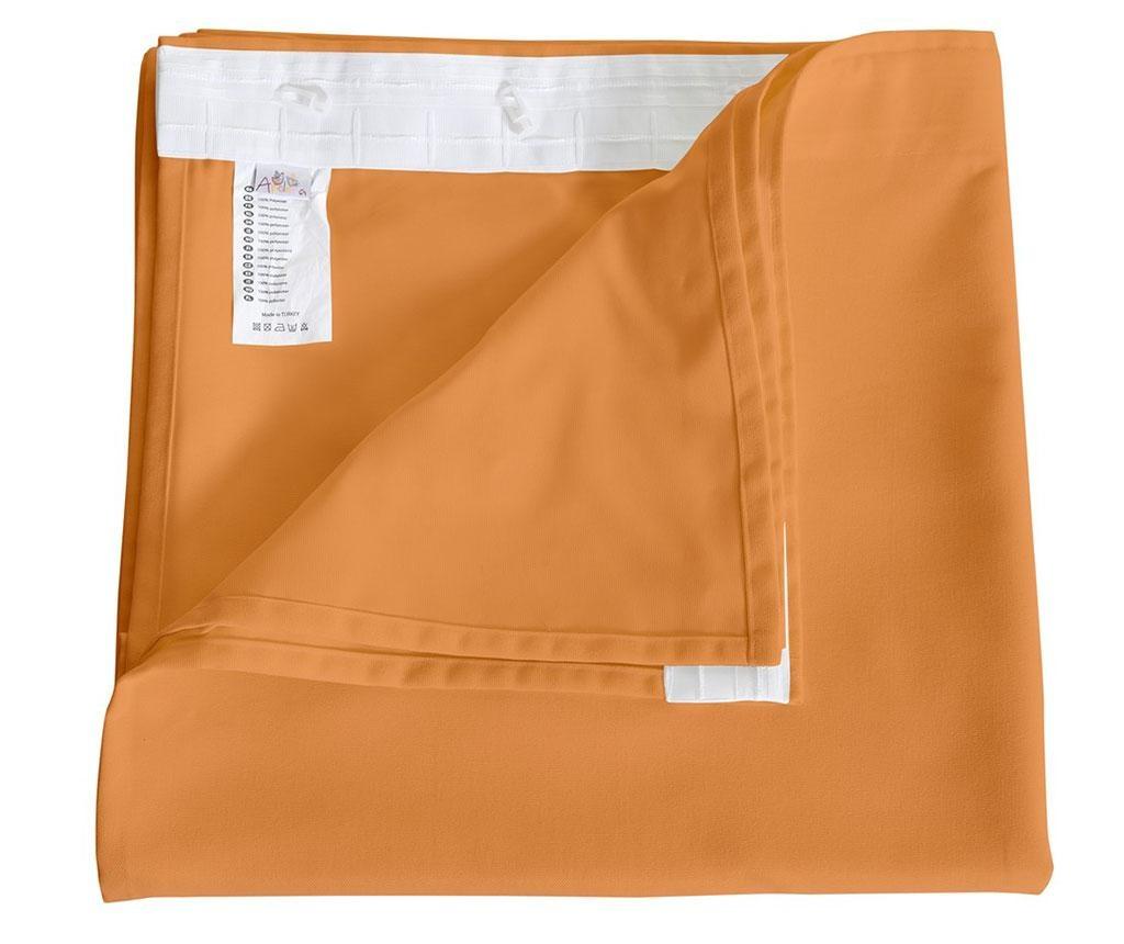Zastor Plain Peach 140x270 cm