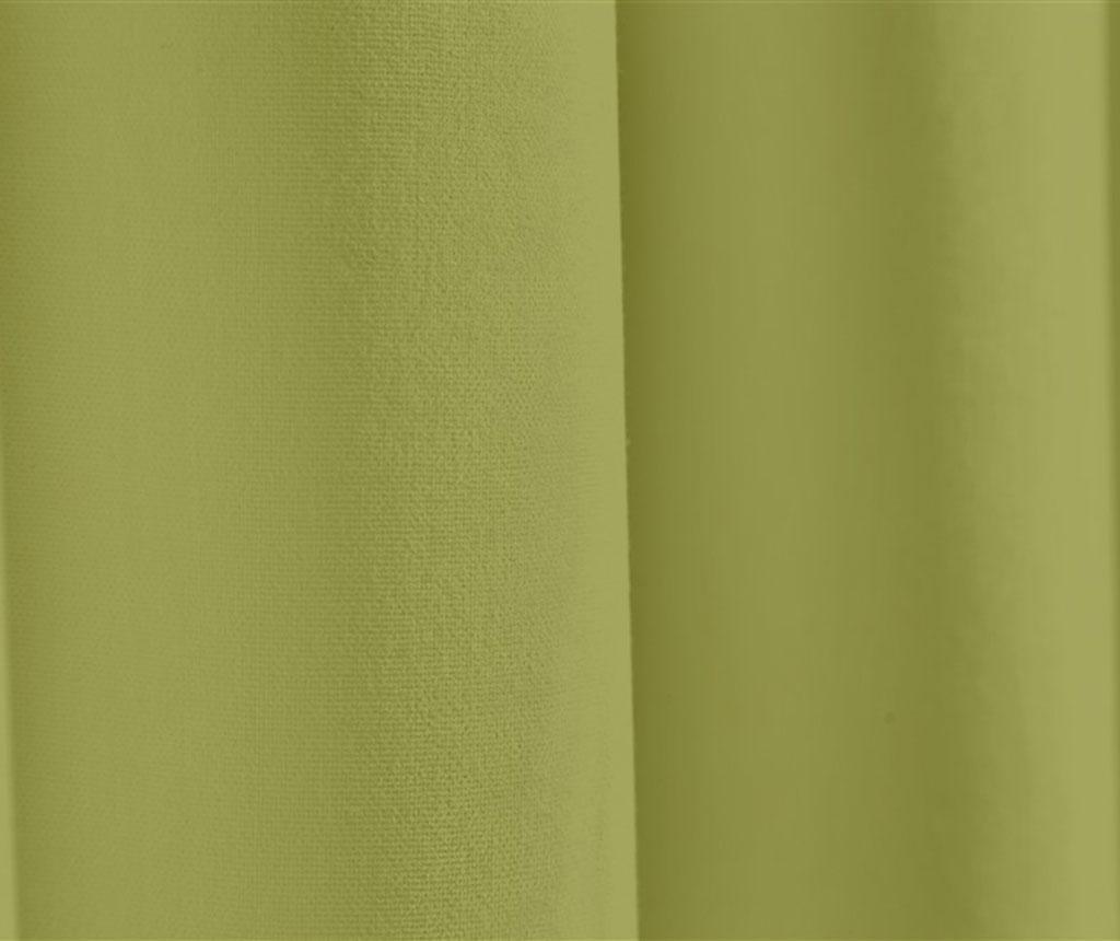 Zastor Plane Olive 140x270 cm