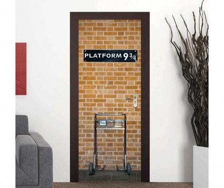 Стикер за врата Kings Cross Platform