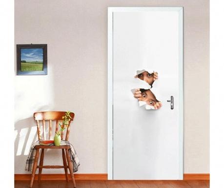 Стикер за врата Behind the Door