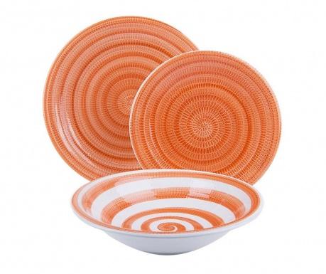 Zastawa stołowa 18 części Old Italy Orange