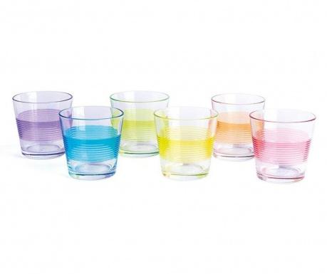 Sada 6 pohárov Valencia 290 ml