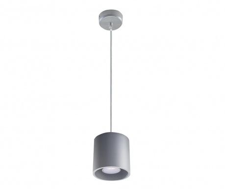 Závesná lampa Roda Grey