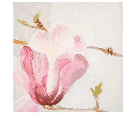 Magnolia Borra Festmény 30x30 cm