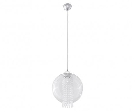 Závesná lampa Fiori Transparent