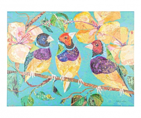 Obraz Tree Birds 60x80 cm