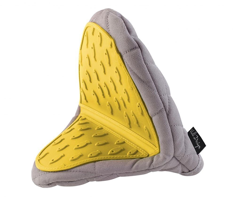 Manusa de bucatarie Livio Grey Yellow