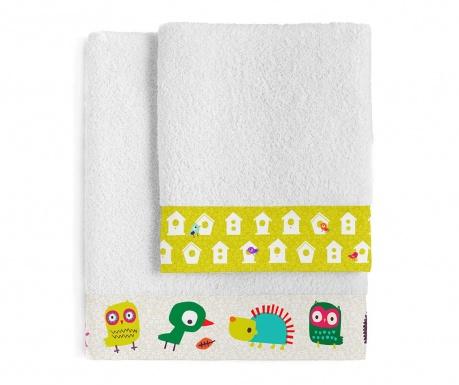 Set 2 ručnika za kupaonicu Sweet Home