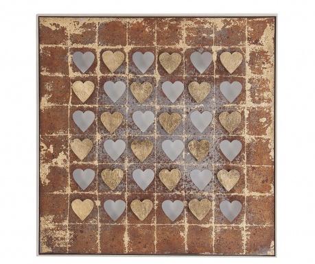 Stenska dekoracija Hearts