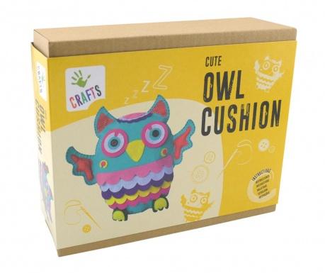 Tvorivá sada Owl Cushion