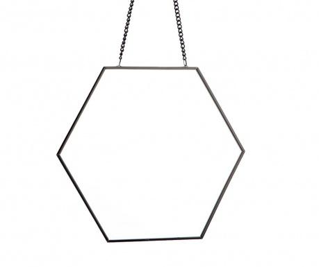 Kαθρέφτης Hexagon Black