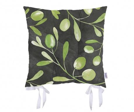 Vankúš na stoličku Olive Garden Black 37x37 cm