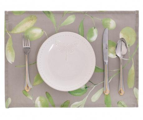 Sada 2 prestieraní Light Olive Garden 33x45 cm
