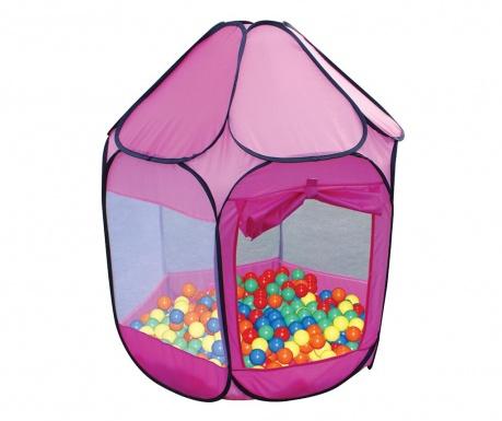 Namiot zabawkowy z 250 piłeczkami Nate Pink Purple